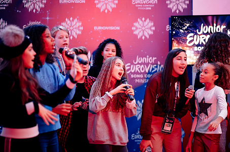 "Junior Eurovision 2018. ""Milky way party"" от Беллакт."